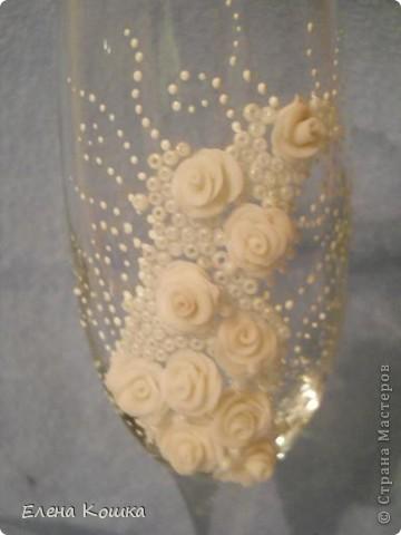 Мои первые свадебные бокалы фото 6