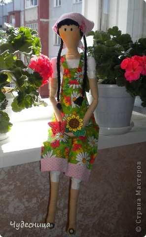 Тильда - садовница