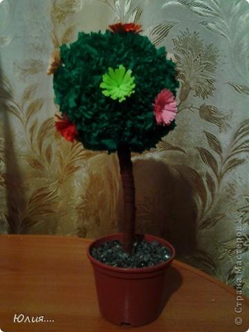 """Здравствуйте дорогие Мастера и Мастерицы!!!Сегодня я хотела бы Вам показать МК """"Дерево счастья"""".Вот оно моё счастье:  фото 1"""