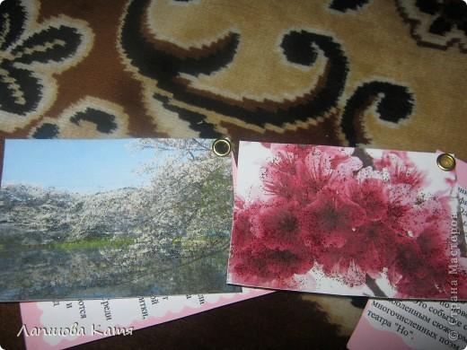 Я сделала АТСки с интересными сведениями  о сакуре(Японской вишне). Здесь 1-2.№2 занят.  фото 5