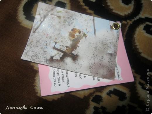 Я сделала АТСки с интересными сведениями  о сакуре(Японской вишне). Здесь 1-2.№2 занят.  фото 14