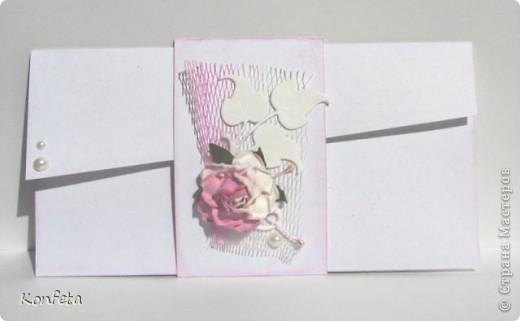 Свадебный конверт фото 1