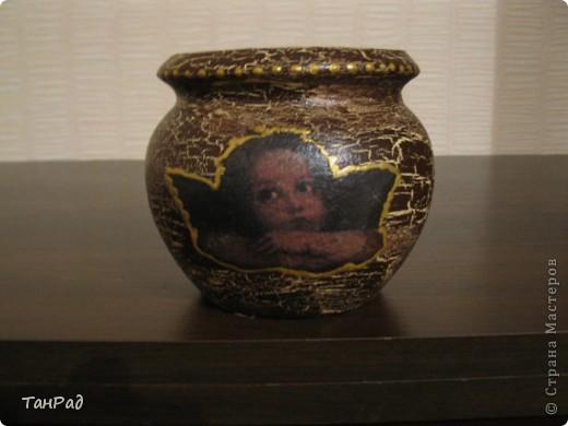 Преображение глиняного горшочка для меда фото 1