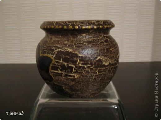 Преображение глиняного горшочка для меда фото 2
