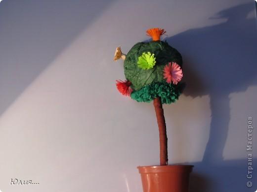 """Здравствуйте дорогие Мастера и Мастерицы!!!Сегодня я хотела бы Вам показать МК """"Дерево счастья"""".Вот оно моё счастье:  фото 7"""