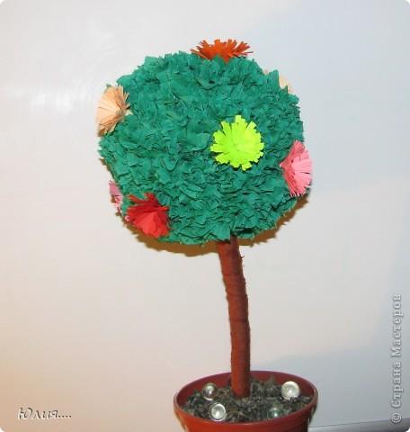 """Здравствуйте дорогие Мастера и Мастерицы!!!Сегодня я хотела бы Вам показать МК """"Дерево счастья"""".Вот оно моё счастье:  фото 10"""