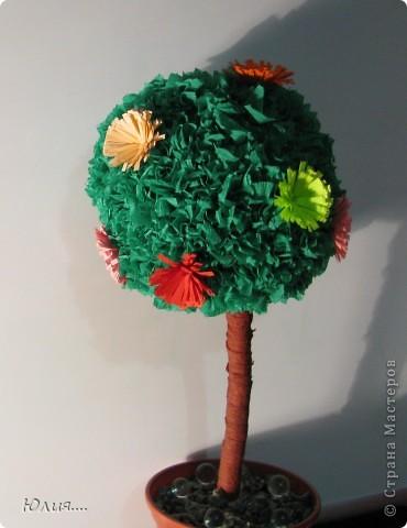 """Здравствуйте дорогие Мастера и Мастерицы!!!Сегодня я хотела бы Вам показать МК """"Дерево счастья"""".Вот оно моё счастье:  фото 11"""