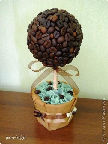 Вот сделала еще три дерева, если честно уже устала от кофе, нужно отдохнуть)) фото 2