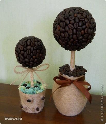 Вот сделала еще три дерева, если честно уже устала от кофе, нужно отдохнуть)) фото 3