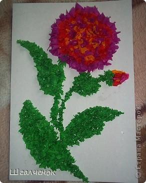 Этот цветочек сделала я  мама Лины и Даши. фото 1