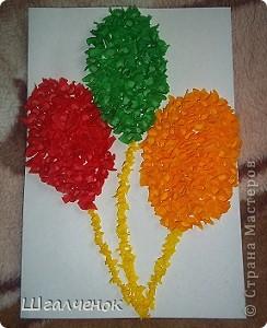 Этот цветочек сделала я  мама Лины и Даши. фото 2