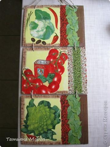 Очередное кухонное панно, только это для себя, любимой. фото 1