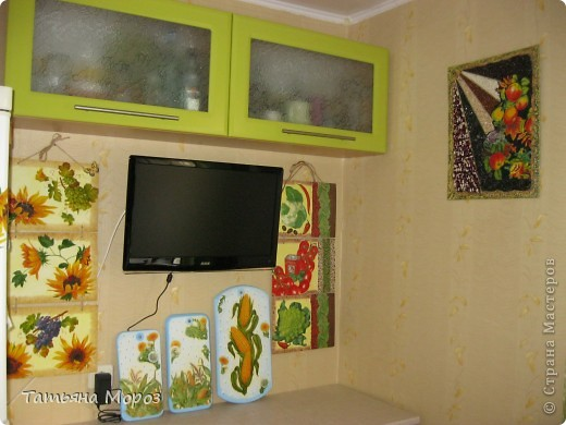 Очередное кухонное панно, только это для себя, любимой. фото 8