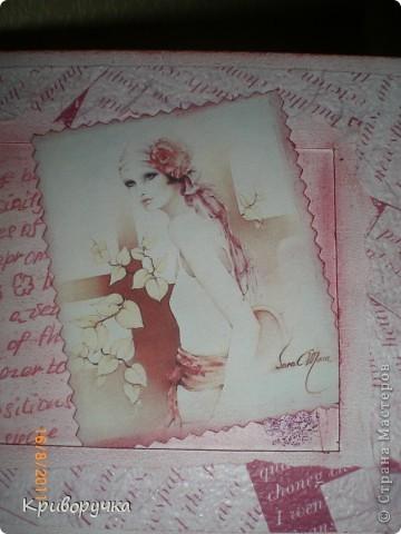 Добрый день! Позвольте представить моя первая открытка на заказ!!! Хотя это громко сказано..... Но я за нее получу ....когда получу и что нибудь с этим сделаю тогда и расскажу. В общем делала я открыточку для совершенно незнакомой женщины, на ее 5о-летие. Единственное что меня попросили, так это чтоб открытка была яркой и цифра 50, обязательно где нибудь да фигурировала... фото 9