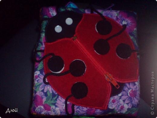 Кубик для племянницы делала на скорую руку по мотивам книжки для сынишки. Так, что она по сути точная копия, за исключением одной картинки с улиткой.  Цветик семицветик-подвижные лепесточки-мешочки из разной наощупь ткани с разными наполнителями. фото 9