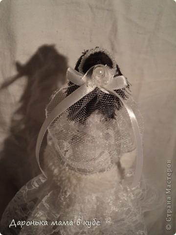 """""""Свадебная пора"""" портретные куклы фото 6"""