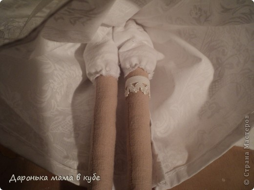 """""""Свадебная пора"""" портретные куклы фото 7"""