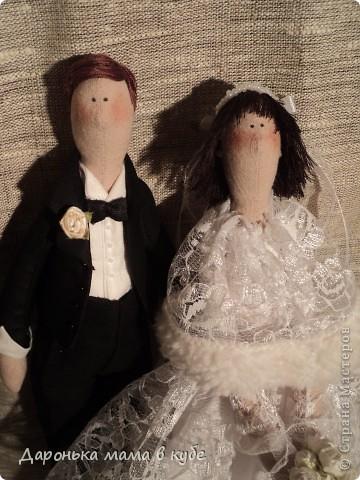 """""""Свадебная пора"""" портретные куклы фото 2"""