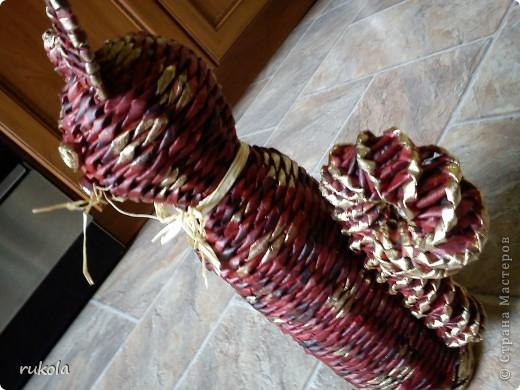 Плетение из газет фото 4