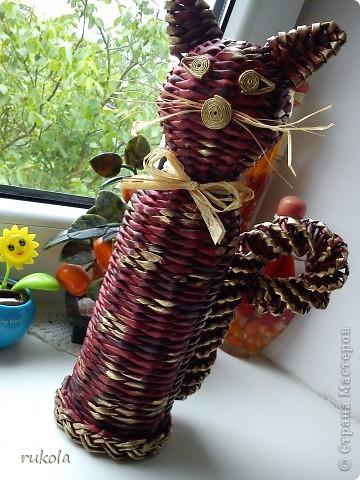 Плетение из газет фото 1