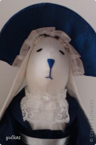 вот такая зайца у меня получилась.... но кажется что-то с мордочкой вышло неудачно...а Вы что думаете?Буду рада узнать ваше мнение:) фото 2