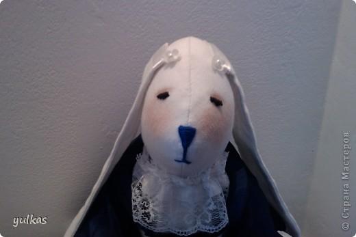 вот такая зайца у меня получилась.... но кажется что-то с мордочкой вышло неудачно...а Вы что думаете?Буду рада узнать ваше мнение:) фото 11