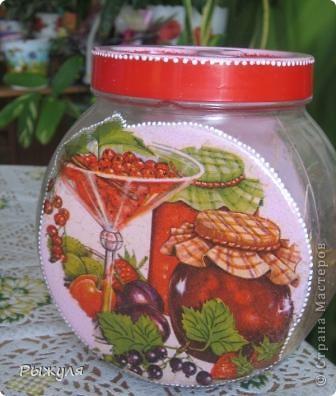 Были у меня стеклянные грустные баночки, хранили мы там травку(чабрец, календулу и мелиссу) для добавления в чай.  фото 4