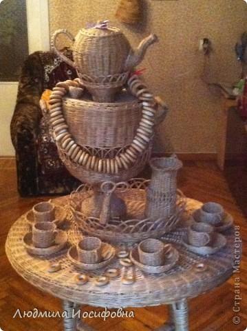 Стол, самовар и чайный набор. Приглашаем на чаепитие... фото 2