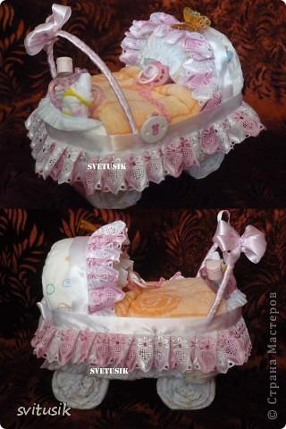Беби икебана  из детской одежды. фото 8