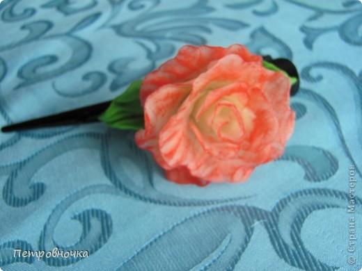 Вот еще одна роза в мой букет. фото 5