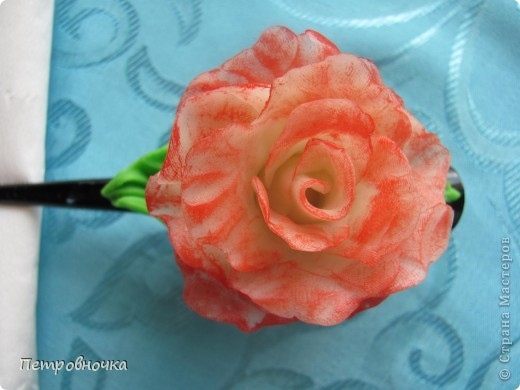 Вот еще одна роза в мой букет. фото 6
