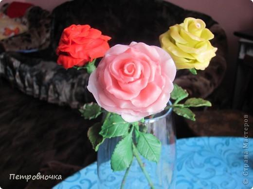 Вот еще одна роза в мой букет. фото 3
