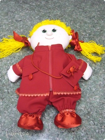 Одежда для куклы Полины фото 1