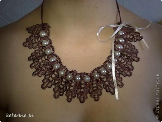 """Это первое ажурное """"ожерелье"""" фото 8"""