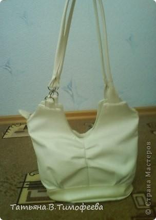 Вот такую сумочку я себе сшила на это лето )) фото 1