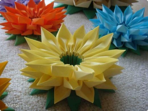 Модульное оригами - Цветы.