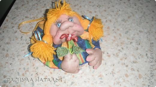 вот такой чеснок с перчиками получился мк в стране мастеров брала, в основе коса из лыко. фото 3