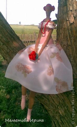 Эта кукла тоже сделана в подарок на день рождения подруги. фото 1