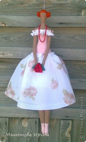 Эта кукла тоже сделана в подарок на день рождения подруги. фото 2