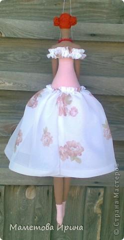 Эта кукла тоже сделана в подарок на день рождения подруги. фото 3
