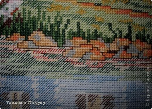Готовая работа (рамка пока временная, она слегка маловата для этой картины и часть рисунка оказалась под рейками)... фото 7