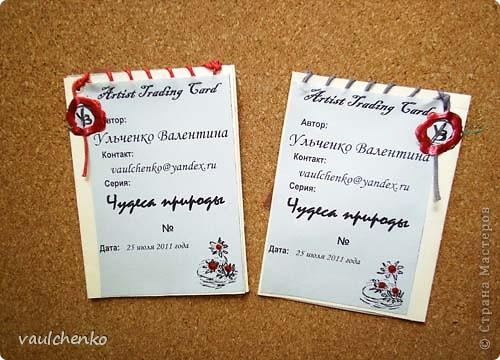 В начале августа в Волгограде случились чудеса - встретились 5 чудесных карточек! И встретились они потому, что Олечка Олисандра из Северной столицы,  придумала ИГРУ!  http://stranamasterov.ru/node/211670   Но обо всём по порядку... фото 9