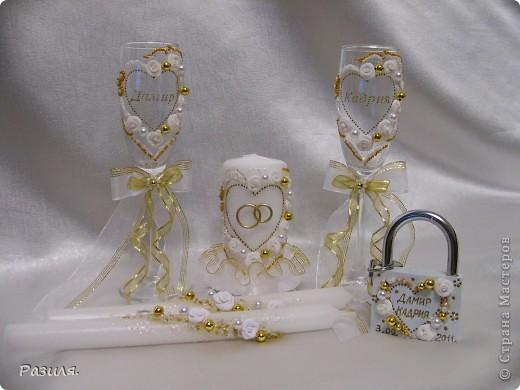 Набор свадебных аксессуаров фото 10