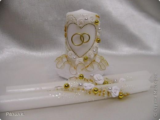 Набор свадебных аксессуаров фото 8