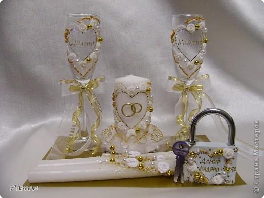 Набор свадебных аксессуаров фото 1