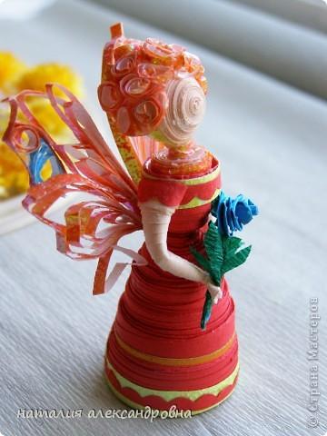 пальчиковая куколка фото 4