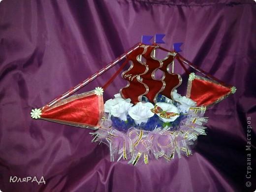 Этот корабль в дополнение к свадебному набору http://stranamasterov.ru/node/228425 фото 1