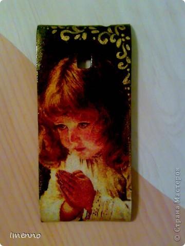 Порча чужого имущества..))) Панель для телефона. Подружка дочерина принесла. Сказала-хочу!  фото 1