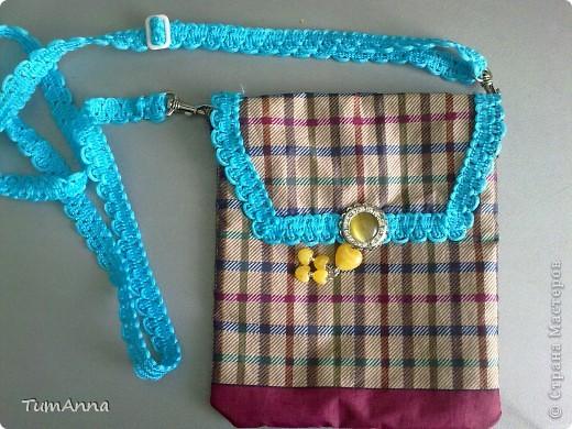 В прошлом году срочно понадобилась сумочка для всяких мелочей, т.к. под рукой не было ничего кроме старого зонтика.......не удержалась :)))) фото 4