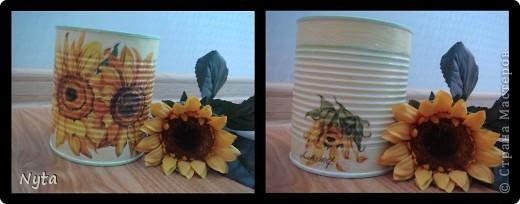 Мамуле очень нравятся подсолнухи... Этот наборчик для кухни я сделала для неё)))) фото 5
